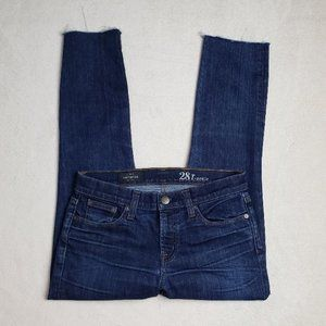 Women's - J. Crew Toothpick Ankle Jeans, Size 28
